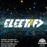 The Electrified Broadcast 009 with Nocturnal Wax & Kenny M (Thursday 7 December 2017 @ 2pm)