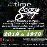 Ade Jacobs - Top 10 Time Scoop 2018 & 1979 - Box UK - 18/11/18