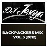 BACKPACKERS MIX VOL.5 (Jan 2012)
