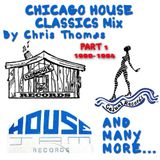 !!Warning!! Old School House Music From Chicago 90-94 Part 1