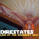 DIRESTATES - LIVE AT THE BASSMENT 2014