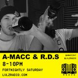AMACC & RDS | 001 | SPECIAL GUESTS LEVELS SYNDICATE | 12.12.15 | @LVLZRADIOI