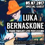 Luka Bernaskone+Fabio Fadigati live percussion @ Aria Verde Asola MN