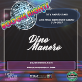 DJ Joey Dino/Dino Manero - LIVE at Boogie Nights RI (70's and 80's) on 3-24-2017