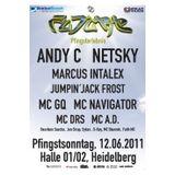 Netsky + MC AD @ FUTURE Pfingsterlebnis, halle02 Heidelberg (12.06.2011)