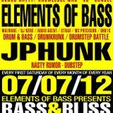 Elements of Bass - Live @ Bass & Bliss - 07/07/12