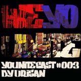 WEYOUNITE - YOUNITECAST #003 BY DRISAN - WeYouNite music from the shelf Dj Mix