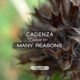 Cadenza Podcast   207 - Many Reasons (Cycle)
