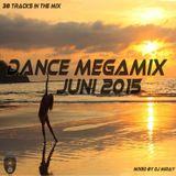 Dance Megamix Juni 2015