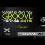 Groove #12 @ Vorterix Bahía (emitido el 31-03-17)