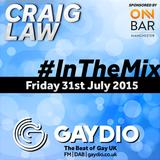 Gaydio #InTheMix - 31st July 2015