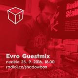 Shadowbox @ Radio 1 25/09/2016: Evro Guestmix