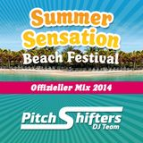 PitchShifters DJ Team - Summer Sensation '14 Mix (Mixed by Dj PatRock & Pete McVain)