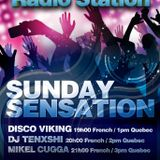 SUNDAY SENSATION ON House Music Radio Station MiKel CuGGA ( LIVE)