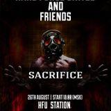 Sacrifice @ H.F.U.-STATION MOSCOW 26.08.2016 SUMMER SESSION