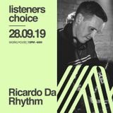 Listeners Choice - Promo Mix August 2019