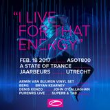 Chris Schweizer @ A State Of Trance 800 Festival (Utrecht) - 18.02.2017