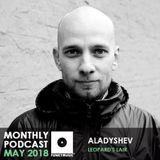 Funkymusic Monthly Podcast, May 2018 - Aladyshev - Логово Леопарда