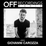 OFF Recordings Radio 21 with Giovanni Carozza