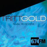 TRITTGOLD Radio Show @674.fm - 15.02.2014