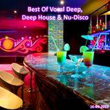 Best Of Vocal Deep, Deep House & Nu-Disco #20 - 16/09/2017