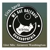 Groover Washington @ We Are Balearic 1st Birthday