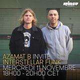Azamat B Invite Interstellar Funk - 11 Novembre 2015