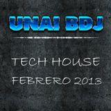 Sesion Tech House Febrero 2013 - Unai BDJ