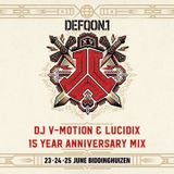 Defqon.1 - The 15 Year Anniversary Mix | By DJ V-Motion & Lucidix