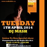 DJ Mash Live @ Pumping Beats on Radio Hits 88.2 (1-4-2014)