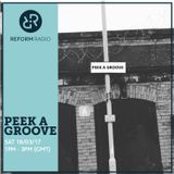 Peek A Groove 18th March 2017