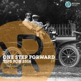 One Step Forward - Tips For 2016