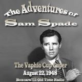The Adventures Of Sam Spade - The Vaphio Cup Caper (08-22-48)