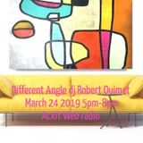 Different Angle March 24 2019 Robert Ouimet Acxit Web Radio