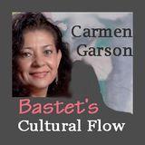 JANE ELLEN GLASSER - poet & Visual artist on Bastet's Cultural Flow with Carmen Garson
