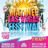 MATINÉE Las Vegas Festival  (DJ Contest) - Dj Cindel