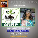 Yetunde Taiwo Adekunle spokesperson of the Lagos State ANRP