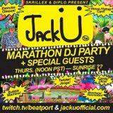 Jack Ü (Diplo & Skrillex) - Beatport Marathon DJ Party Los Angeles United States 2015-02-26 [Part 2]