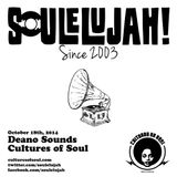 Deano Sounds Live at Soulelujah October 18, 2014