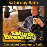 Saturday Breakfast - @CCRSatBreakfast - Luke Barnard - 18/04/15 - Chelmsford Community Radio