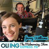 Jerry Williams joins Oli Ing on #ExpressMidmornings (21.08.15)