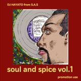 SOUL AND SPICE vol1 dj HAYATO(S.A.S)