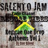 """REGGAE VIBES""-Reggae One Drop Anthems Vol 1-Dj one Blood"