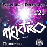 mektro - Welcome to Dreamland 21