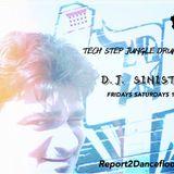Dj-Sinister - Live Mix for Report2Dancefloor Radio-21-10-2017