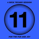 4 Deck Techno Session #11