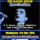 RW073 - THE JOHNNY NORMAL RADIO SHOW - 4TH MAY 2016 - RADIO WARWICKSHIRE