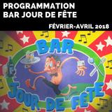 Cultur'et vous - Bar Jour du Fête - Programmation février-avril 2018