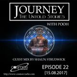 Journey - 22 guest mix by Shaun Strudwick (UK) on Cosmos Radio [15.08.17]