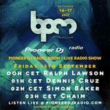 Simon Baker - Live In The Pioneer DJ Radio Room at The BPM Festival Portugal